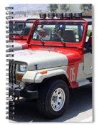 Jurassic Park Jeeps Spiral Notebook
