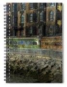 Jurassic Trolleys Spiral Notebook