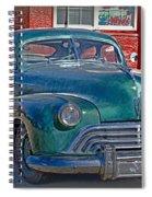 Just A Flat Spiral Notebook