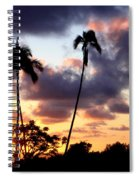 Just Another Sunrise In Paradise Spiral Notebook