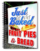 Just Baked Spiral Notebook