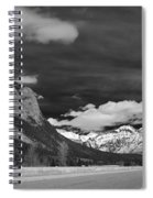 Just Before Banff Spiral Notebook