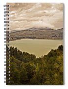 Just Before The Storm - Ardales Spiral Notebook