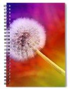 Just Dandy Rainbow Spiral Notebook