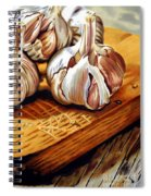 Just Garlic Spiral Notebook
