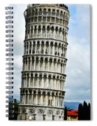 Just Leaning Not Falling Spiral Notebook