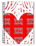 Just Love Spiral Notebook