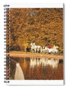 Just Married - A Fairytale Spiral Notebook