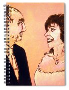 Just Married Spiral Notebook