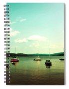Just Sail Boats Spiral Notebook