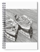 Two Dinghy Friends Just The Two Of Us Spiral Notebook