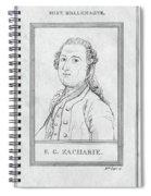 Justus Zachariae (1726-1777) Spiral Notebook