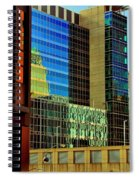 Juxtaposition Of Pittsburgh Buildings Spiral Notebook
