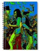Jwinter #16 In Cosmicolors Spiral Notebook
