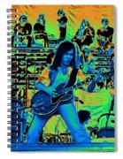 Jwinter #22 In Cosmicolors Spiral Notebook