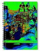 Jwinter #9 Enhanced Colors 1 Spiral Notebook