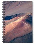 Ka Lu'u O Ka 'o'o  And Sliding Sands Trail Keonehe'e Haleakala Maui Hawaii Spiral Notebook