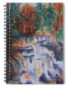 Kaaterskill Falls In The Catskills Spiral Notebook