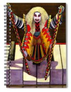 Kabuki Chopsticks 1 Spiral Notebook