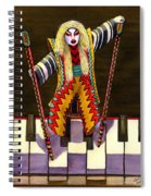 Kabuki Chopsticks 2 Spiral Notebook