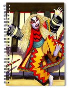 Kabuki Chopsticks 3 Spiral Notebook