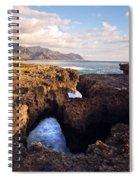 Ka'ena Point Natural Bridge Spiral Notebook