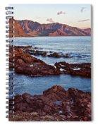 Ka'ena Point Oahu Sunset Spiral Notebook