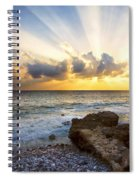 Kaena Point State Park Sunset 2 - Oahu Hawaii Spiral Notebook