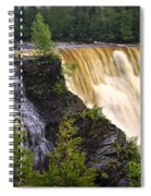 Kakabeka Falls On The Kaministiquia River Spiral Notebook
