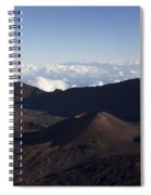 Kalahaku Overlook Haleakala Maui Hawaii Spiral Notebook