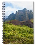 Kalalau Valley - Kauai Hawaii Spiral Notebook