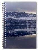 Sunset Kalamalka Lake - British Columbia Spiral Notebook