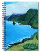 Kalaupapa Peninsula Spiral Notebook