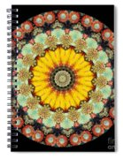 Kaleidoscope Ernst Haeckl Sea Life Series Spiral Notebook