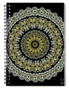 Kaleidoscope Ernst Haeckl Sea Life Series Steampunk Feel Spiral Notebook