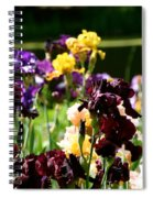 Kaleidoscope Floral Spiral Notebook