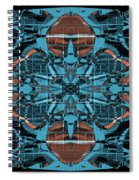 Kaleidoscope Flower 2 Spiral Notebook