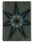 Kaleidoscope Star Spiral Notebook
