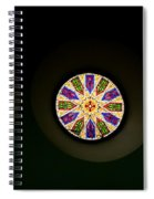 Kaleidoscope Window  Spiral Notebook