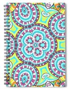 Kaleidoscopic Whimsy Spiral Notebook