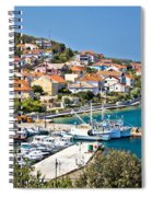 Kali Small Fishermen Town Harbor Spiral Notebook