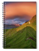 Kalsoy Island And Kallur Lighthouse Spiral Notebook