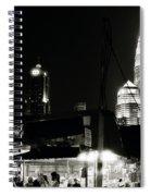 Kampung Baru Petronas Towers Spiral Notebook