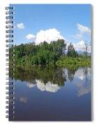 Kanaka Creek Rising - Maple Ridge, British Columbia Spiral Notebook