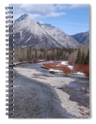 Kananaskis River Spiral Notebook