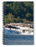Kanawah Falls I - Spring Spiral Notebook
