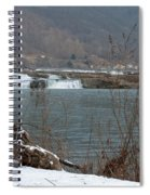Kanawha Falls - Winter Spiral Notebook