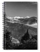 Kanchenjunga Monochrome Spiral Notebook