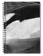 Kandu Orca Seattle Aquarium 1969 Pat Hathaway Photo Killer Whale Seattle Spiral Notebook