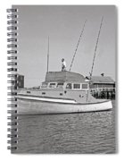 Kandy Of Barnstable Harbor 1950's Spiral Notebook